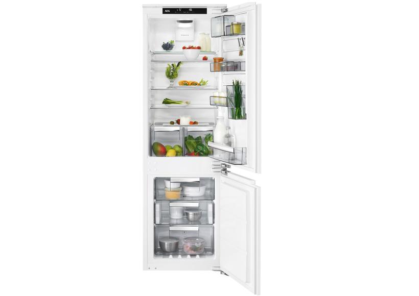 Aeg Kühlschrank Einbau : Aeg einbau kühl gefrierkombination sce tc möbel müller inh