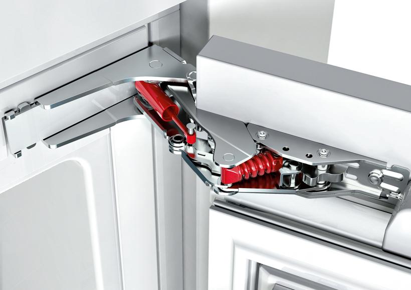Bosch Kühlschrank Rot : Bosch serie einbau kühlschrank flachscharnier profi